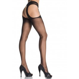 Sheer Garter Belt Suspender Nylon Stocking