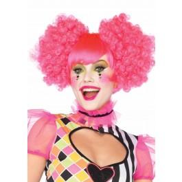 Harlequin Neon Wig