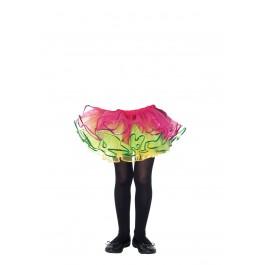 Childrens Enchanted Sequin Trimmed Rainbow Tutu
