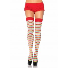 Mini Rainbow Acrylic Thigh Highs