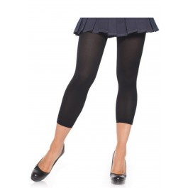 Opaque Leggings Footless Tights