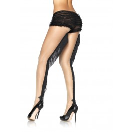 Lycra Sheer Pantyhose With Fringe Backseam