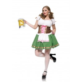 Plus Size Gretchen Beer Girl Costume