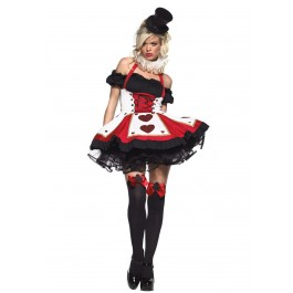Pretty Playing Hearts Card Costume