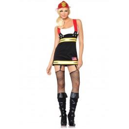 Backdraft Babe Firefighter Costume