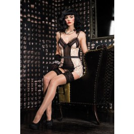 2Pc. Burlesque Vintage Set.