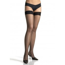 Spandex Industrial Net Thigh Highs