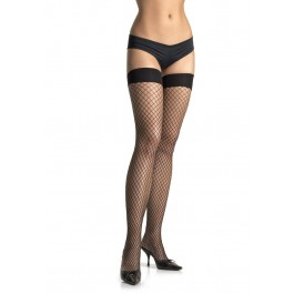 Plus Size Spandex Industrial Net Thigh Highs