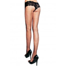 Lycra Industrial Fishnet Pantyhose With Back Seam