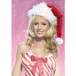 Christmas Velvet Santa Hat