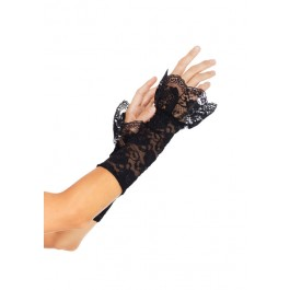 Stretch Lace Gauntlet Arm Warmer