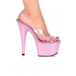6 1/2 Inch Heel Slip-On Mule Women'S Size Shoe