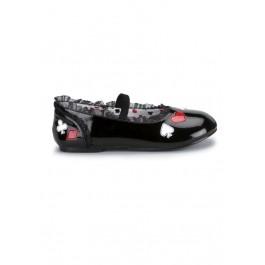 Children'S Poker Suit Flat Shoe