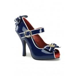 Funtasma ANCHOR-22, 4 1/2 Inch Heel Open Toe Mary Jane