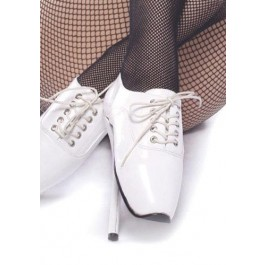 7 Inch Heel Laceup Ballet Point Women'S Size Shoe