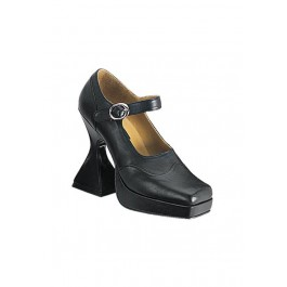 4-1/2 Inch Cone Heel Platform Mary Jane Women'S Size Shoe