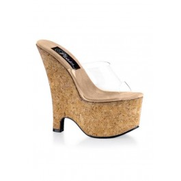 6.5 Inch Wedge Mule Women'S Size Shoe