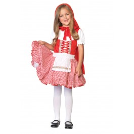Lil Miss Red Riding Hood Cute Kids Holiday Party Costume