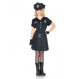 3 Pc Playtime Police Childs Costume