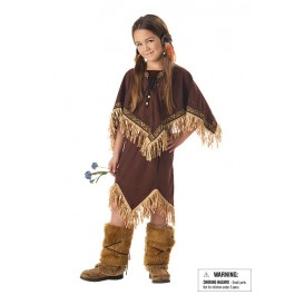 Princess Wildflower Indian Cute Kids Party Costume