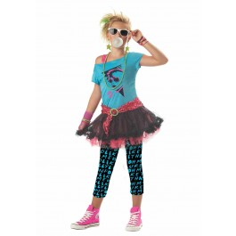 Child Costumes 80's Valley Girl