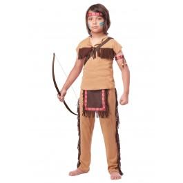Child Native American Brave