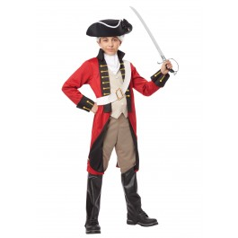 Child British Redcoat