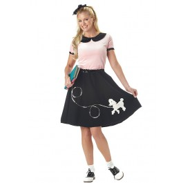50'S Hop With Poodle Skirt Costume