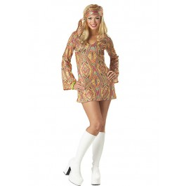 Disco Dolly Go Go Girl Holiday Party Costume