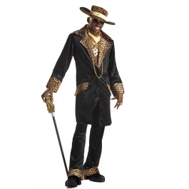 Men's Supa Mac Daddy Pimp Party Costume