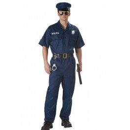 Mens Police Holiday Party Costume
