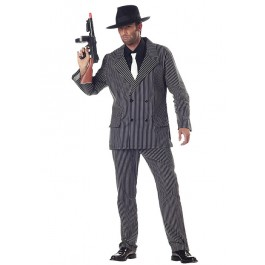 Mens Gangster Mafia Party Costume