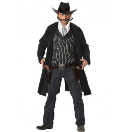 Men'S Gunfighter Western Party Costume