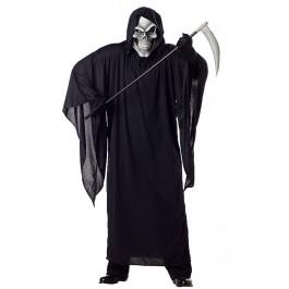 Men'S Grim Reaper Scary Ghost Demon Horror Costume