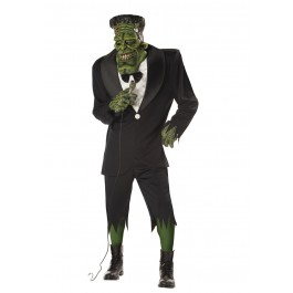 Men'S Big Frank Holiday Party Costume