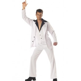 Men'S Saturday Night Fever Disco Party Costume