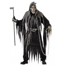 Men's Mr. Grim Scary Demon Ghost Horror Costume