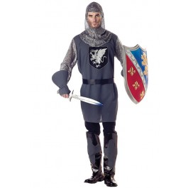 Men'S Valiant Knight Medieval Renaissance Party Costume