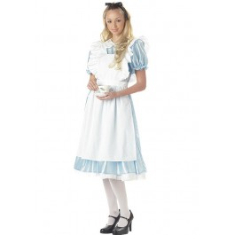 Alice Dress With Apron Costume