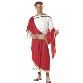 Caesar Roman Emperor Toga Holiday Party Costume