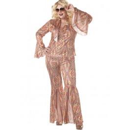 Plus Size Discolicious Retro Go Go Costume