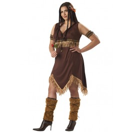 Plus Size Indian Princess Costume