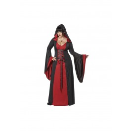 Deluxe Plus Size Hooded Robe Costume