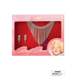 Marilyn Jewelry Set Costume Accessory