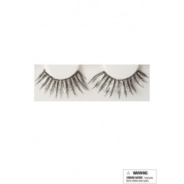 Eyelashes - Black/Silver
