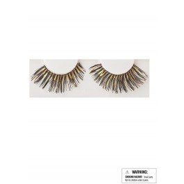 Eyelashes - Black/Gold