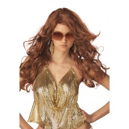 Sexy Super Model Wig Holiday Party Costume Accessory