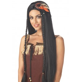 Sexy Indian Princess Wig Holiday Party Costume Accessory