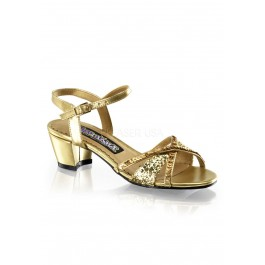 Children's 1 3/4 Inch Heel Sandal