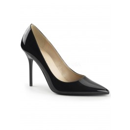 4 Inch Pointed-Toe Pump